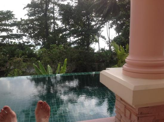 Centara Grand Beach Resort Phuket: The view from our Patio