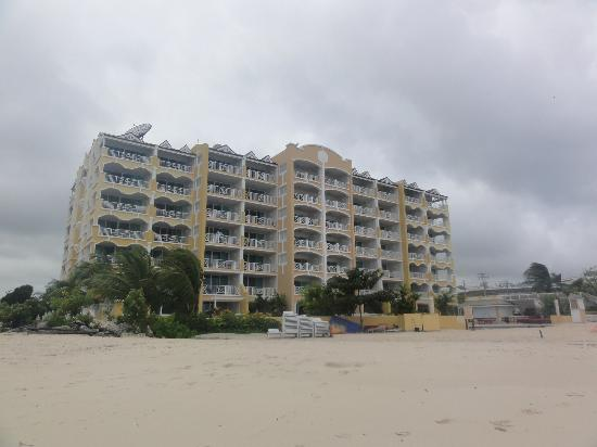 Ocean Two Resort & Residences: view of hotel from ocean