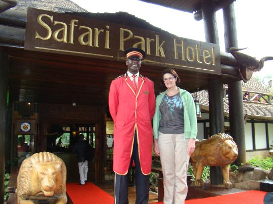 Safari Park Hotel: doorman