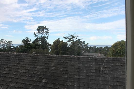 Carmel Wayfarer Inn: view from the room