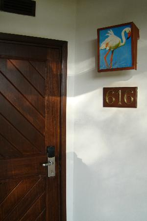 Safari Park Hotel: room entrance