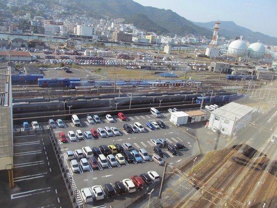 JR Kyushu Hotel Nagasaki: 部屋からの眺望
