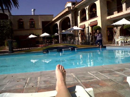 Hotel Maridelfi: vista desde la alberca del hotel