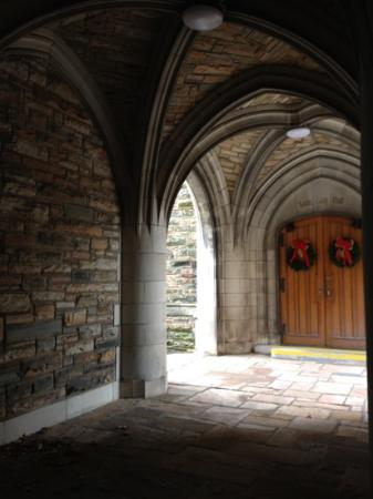 Scarritt-Bennett Center: arches over a walkway