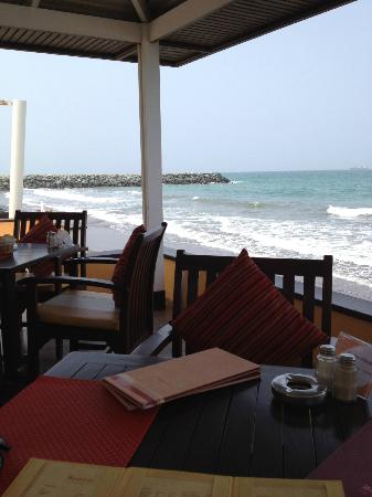 Breezes Beach Bar and Terrace: Stunning view of the sea