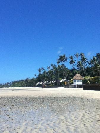 Fiji Hideaway Resort & Spa: View from the sand
