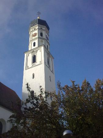 Bad Schussenried, Germany: Tower with onion dome