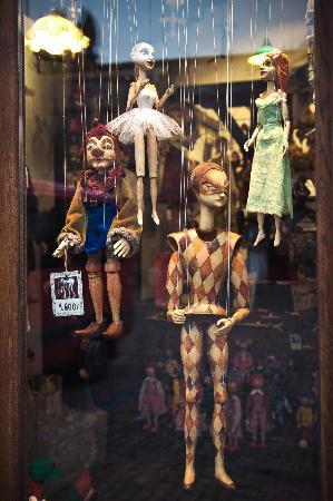 Shop Marionety Truhlar: Марионетки в магазине