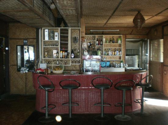 Marina De Bay: The bar area.