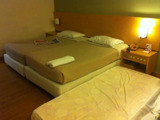 Hotel Excelsior Ipoh : requested additional bed