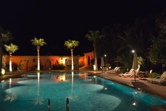 Vue du jardin/piscine Hotel Dar Zitoune
