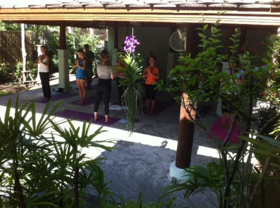 The Yogarden: morning class