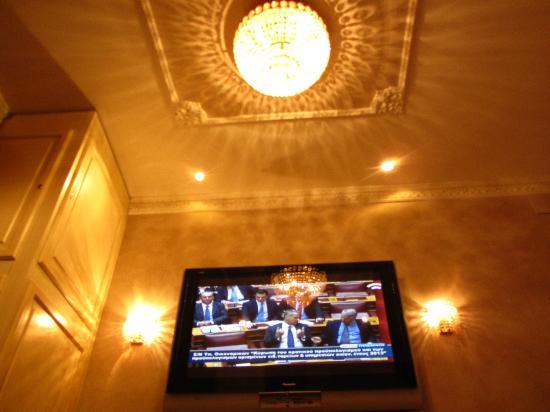 Al Viminale Hill Inn & Hotel: Deckenansicht