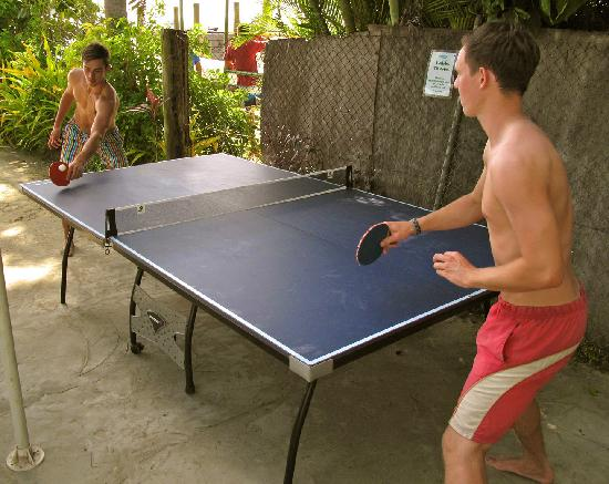 Aquarius On The Beach: Table Tennis on the beach