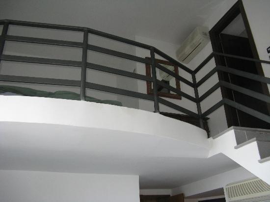 Hotel Capri: Piano di sopra camera