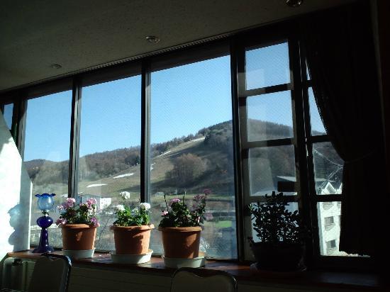 Sugadaira Hotel: レストランからの眺め