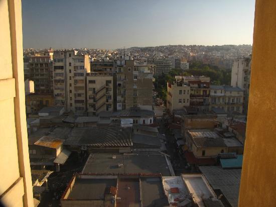 Amalia Hotel: Вид на город (рыночная площадь)