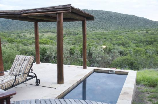 Kwandwe Great Fish River Lodge: The patio, Room 9
