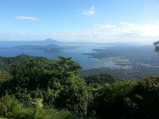 Taal Vista Hotel: View