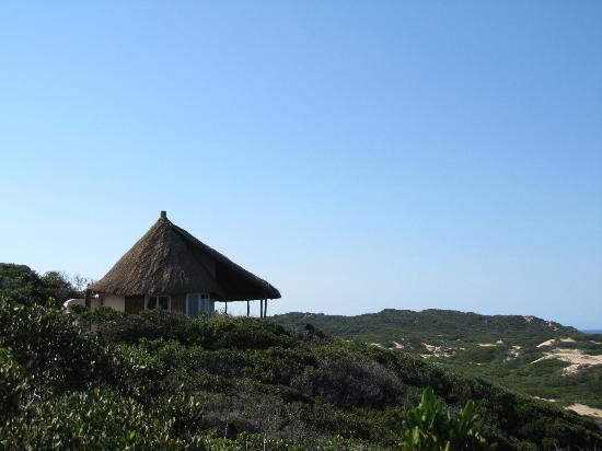 Dunes de Dovela eco-lodge: Cottages located in the dunes
