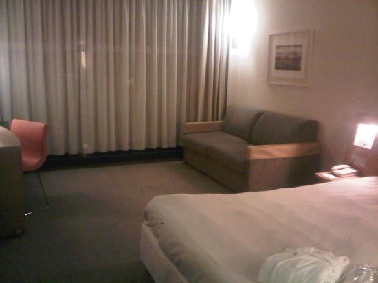 Novotel Geneve Centre: 広い部屋