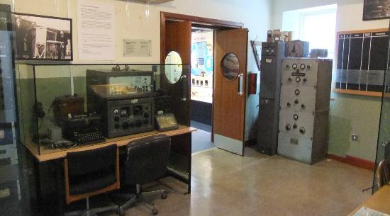 Foynes Flying Boat Museum: Enormous radio transmitters.