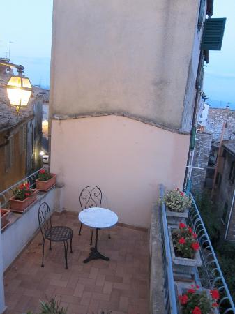 Hotel Signa: Balcony