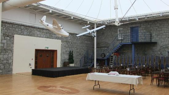 Foynes Flying Boat Museum: A light and airy lecture theatre.