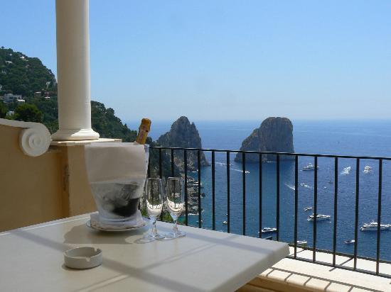 Hotel Luna: la mia terrazzina privata..