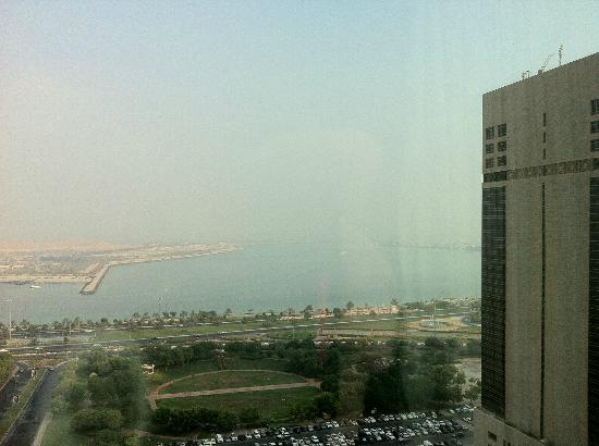 Le Royal Meridien Abu Dhabi: A view from room