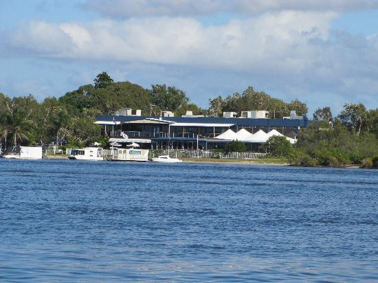Caloundra Power Boat Club: Power Boat Club from Caloundra Cruise Boat
