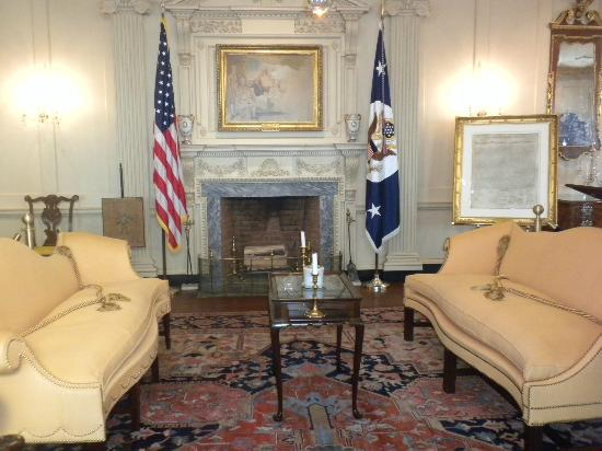 Department of State: The John Quincy Adams State Drawing Room