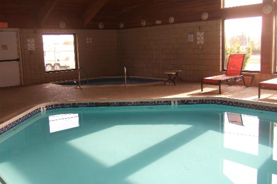 Best Western Plus Newark/Christiana Inn: Pool and hot tub