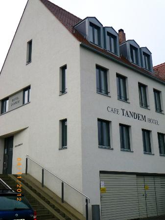 Cafe Tandem Hotel from river