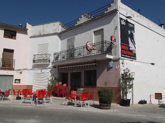 Restaurant Nou Tarraso, Beniali, Vall de Gallinera