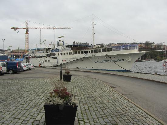 Malardrottningen Yacht Hotel and Restaurant: Boat