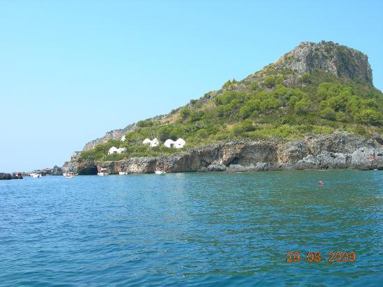 Praia A Mare, อิตาลี: Il Ristorante... abbandonato