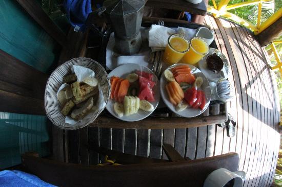Nueva Vida de Ramiro: Frühstück auf der Terrasse