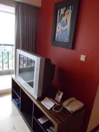 Aston Braga Hotel & Residence, Bandung: Living room