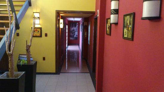Hotel Iberia: Corredor de acesso aos quartos