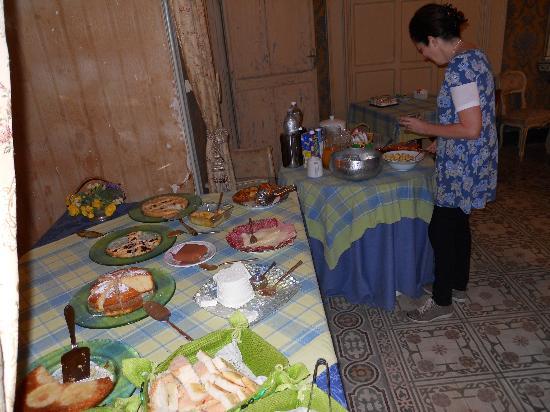 Il Giardino del Barocco: Jane breakfast