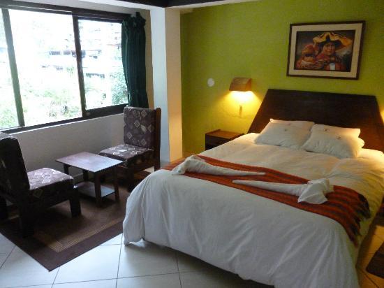 Terrazas del Inca bed and breakfast Hostal: Habitacion doble twin