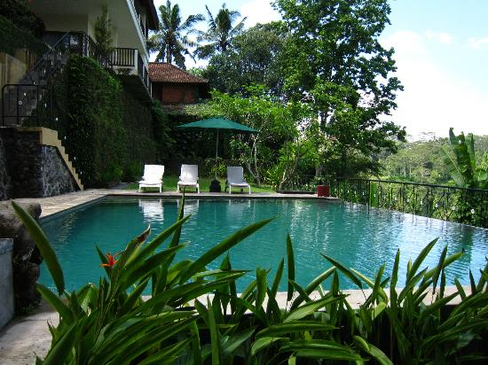 Puri Bunga Resort and Spa: One of the two swimming pools. Could be better maintained.
