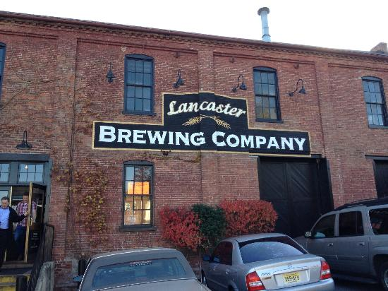 Lancaster Brewing Company: Cute old mill in Lancaster.