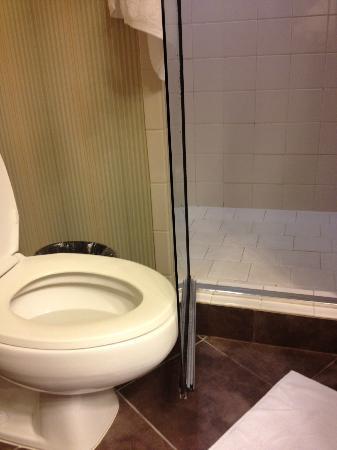 Embassy Suites by Hilton Deerfield Beach - Resort \u0026 Spa Shower Door hitting toilet & Shower Door hitting toilet - Picture of Embassy Suites by Hilton ...
