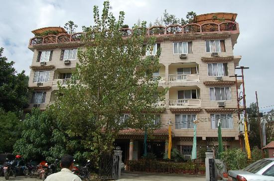 East side of Hotel Tibet