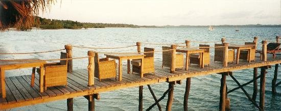 Fundu Lagoon: Beach