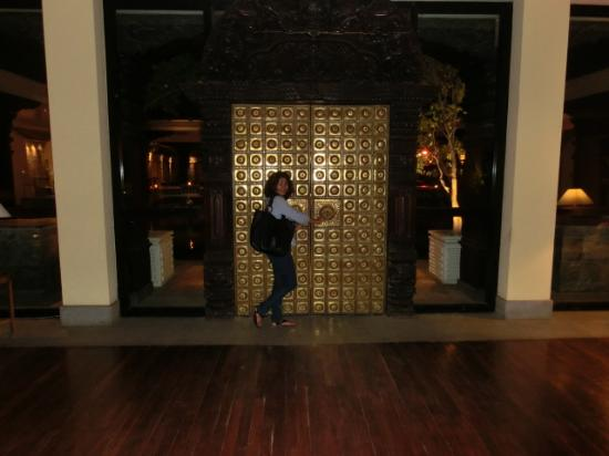 Hyatt Regency Kathmandu: the golden door