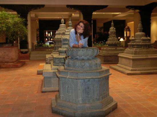 Hyatt Regency Kathmandu: the hotel lobby