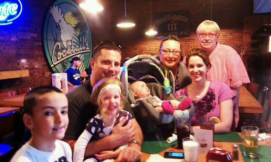 Mulligan's At Mill Side Live: Celebrating my brother's birthday this year at Mulligan's
